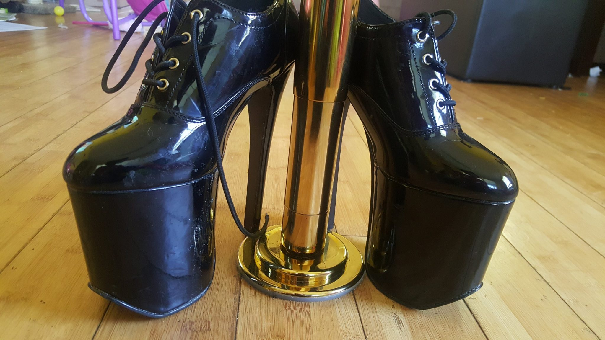 Bring Out Your Inner Sex Goddess for Pole and Exotic Dancing With These Platform Heels